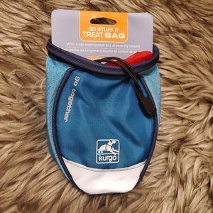Dog Training Treat Bag with key stash pocket